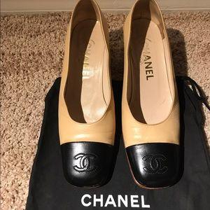 Classic Authentic Chanel Heel